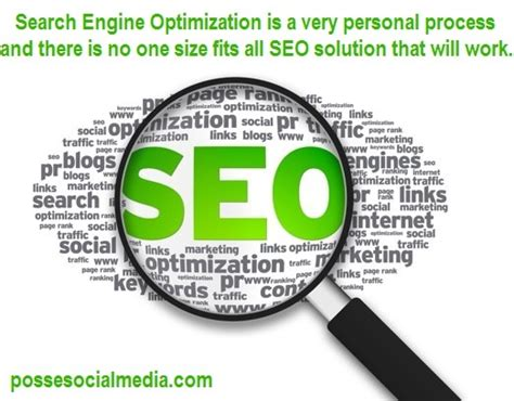 search engine optimization process search engine optimization is a personal process and