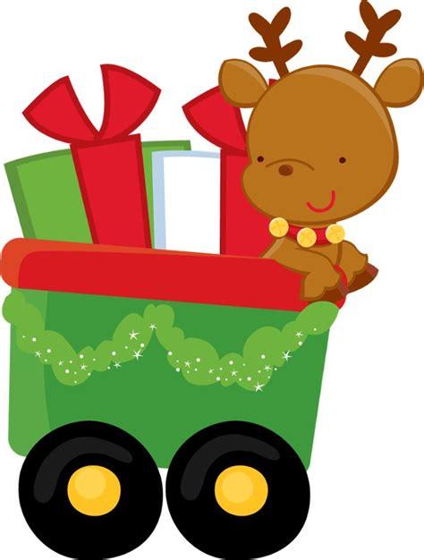 christmas train clipart    clipartmag