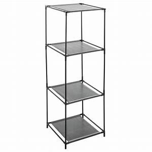 Etagere Cube Noir : tag re cube 3 casiers mix n 39 module noir ~ Teatrodelosmanantiales.com Idées de Décoration