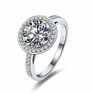 Excellent 3 Carat Moissanite Jewelry Pass Testers Genuine ...