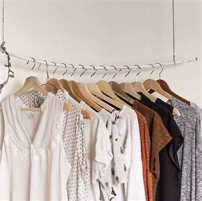 Wardrobe Minimalist Clothes Minimal Wellness