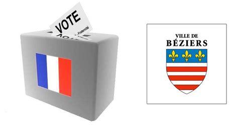 actualit 201 s beziers rappel changements d adresse de bureaux de vote h 233 rault tribune