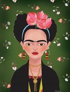 Frida Kahlo Kunstwerk : die besten 25 frida kahlo caricatura ideen auf pinterest mundo caricatura frida kalho und ~ Markanthonyermac.com Haus und Dekorationen