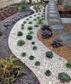 Jardin Moderne Avec Du Gravier Dcoratif Galets Et