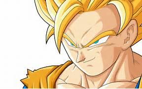 Goku as a Super Saiyan...