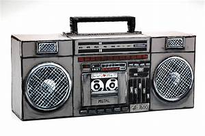 80s Boombox Clipart