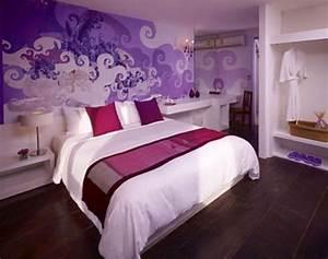 50 purple bedroom ideas for teenage girls ultimate home With teenage girl bedroom wall designs