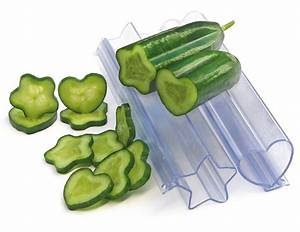Heart And Star Vegetable and Fruit Molds - The Green Head