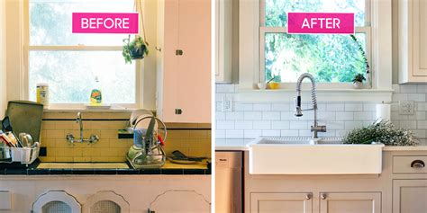enamel kitchen cabinets to new kitchen makeovers beautiful kitchen 3563