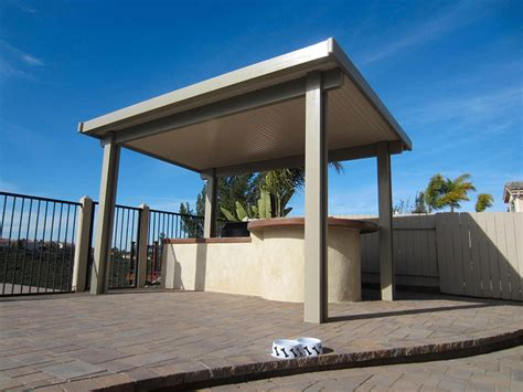 solid roof covers county residential patios