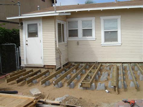 floating concrete deck footings inspiring deck foundations 4 floating deck blocks