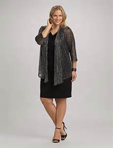 Dresses with Jacket Plus Size Women
