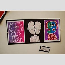 Styrofoam Print  Like The Triptych Variations  Art Lessonsprintmaking  Pinterest Picasso