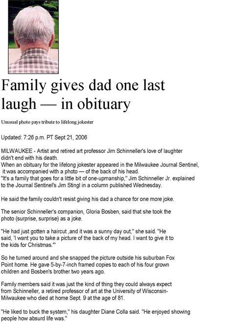 obituary examples sample obituary   unique