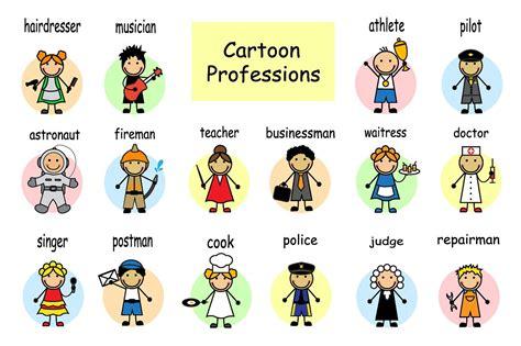 Cartoon Set Of Professions