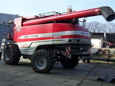 Agco Massey Ferguson 9895 Fortia Combine Harvester From