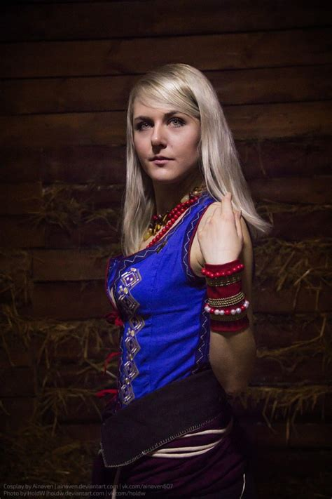 witcher  wild hunt keira metz cosplay  ainaven