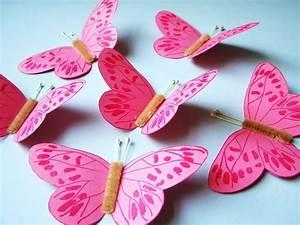 Schmetterlinge Aus Tonpapier Basteln : 150 verbl ffende bastelideen aus papier ~ Orissabook.com Haus und Dekorationen