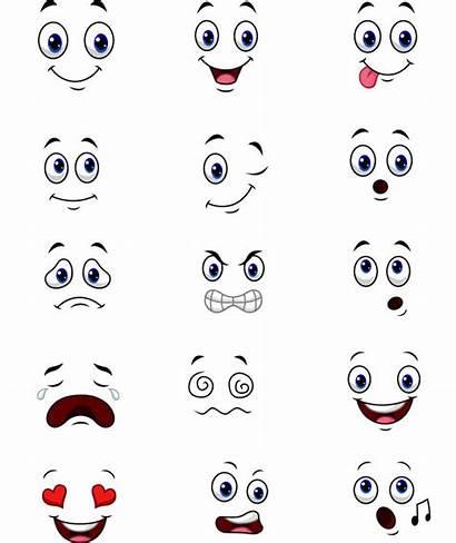 Expressions Cartoon Face Faces Vector Sad Vectors