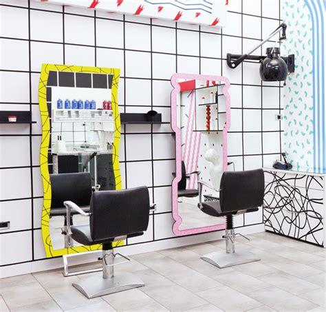 Salon de coiffure design YMS par Kitsch-Nitsch