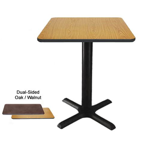 24 x 24 dining table 24 x 30 oak walnut dual sided table kit