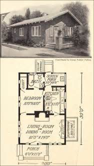 small house cottage plans 1914 tiny cottage bungalow 600 sq ft george palmer