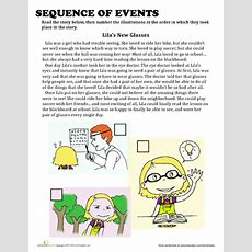 Sequence Of Events  Best Worksheets Ideas