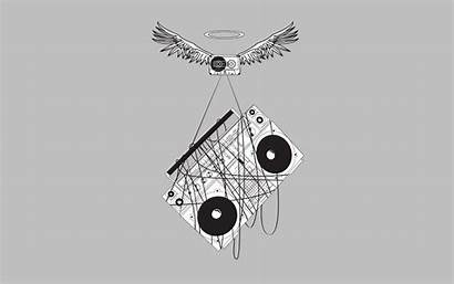 Minimalism Cassette Boombox Stereos Desktop Wings Tape