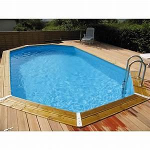 Piscine Bois Pas Cher : piscine ocea 400 x 610cm h130cm entourage bois ubbink ~ Melissatoandfro.com Idées de Décoration