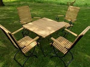 Gartenmöbel Set Runder Tisch : klassische gartenm bel fsc robinie holz metall iter ~ Bigdaddyawards.com Haus und Dekorationen