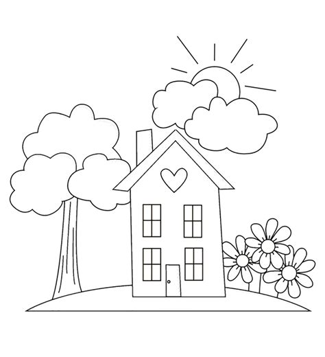 garden coloring page images  kids coloring home