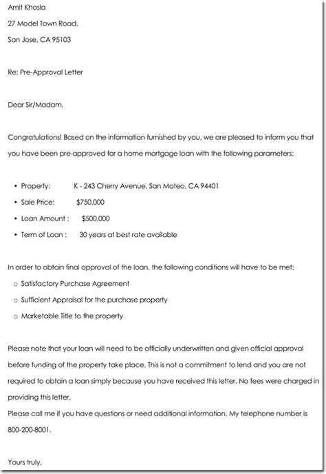 approval letter templates  samples examples formats