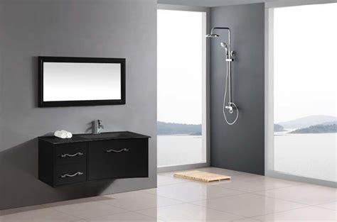 meuble de salle de bain noir laque meuble haut salle de bain noir laque