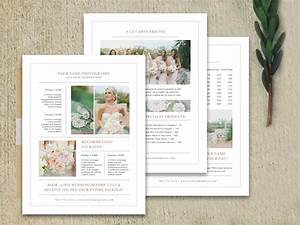 modern photography price list template deals infoparrot With wedding pricing guide