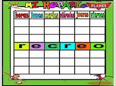 plantilla horario horario planes 6 horas 1 Orientación