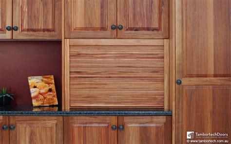 Solid Timber Tambour Kitchen Doors   Tambortech