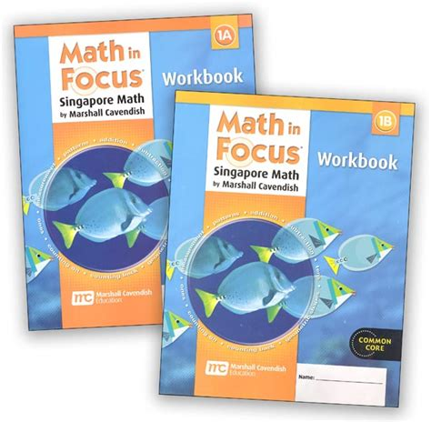 Math In Focus Grade 1 Workbook A And B Set (mif1wb) Details  Rainbow Resource Center, Inc