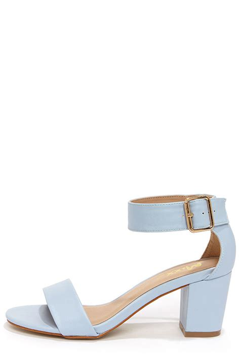 light blue strappy heels cute blue sandals blue heels ankle strap sandals 41 00
