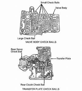 1998 Wrangler  Auto Trans  Valve Body  Tcc Solenoid  Ball