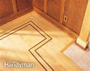 how to lay hardwood floor with a contrasting border the family handyman