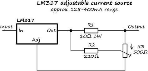 lm adjustable current sourceregulator