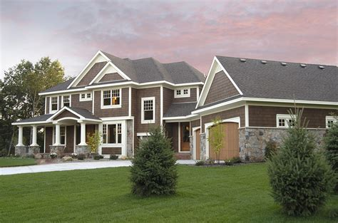 luxurious craftsman home plan rk architectural