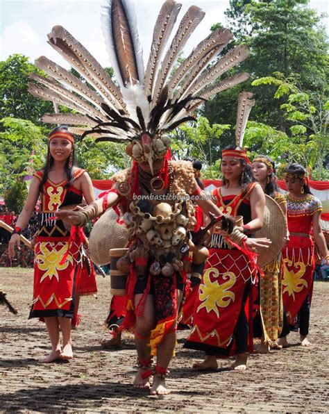 gawai dayak sanggau indonesia culture bombastic