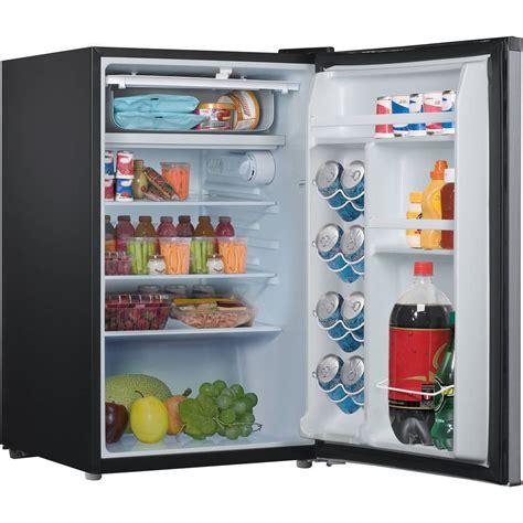 Mini Refrigerator Freezer 43 Cu Ft Stainless Steel Small