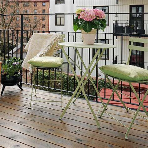 4 amazing ideas for decorating a small outdoor space