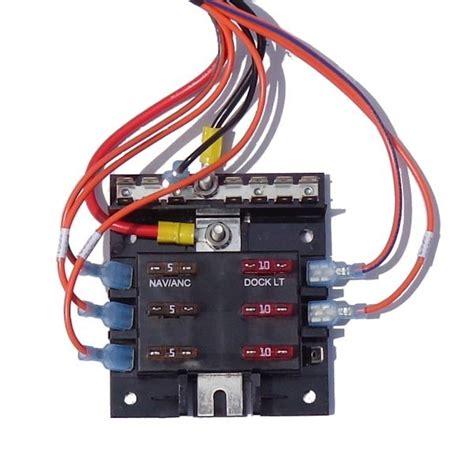 Marine Fuse Box Wiring by Pontoon Wiring Kit Des
