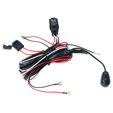 Off Road Atv Jeep Led Light Bar Wiring Harness Amp