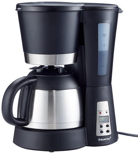 beste kaffeemaschine mit timer und thermoskanne test