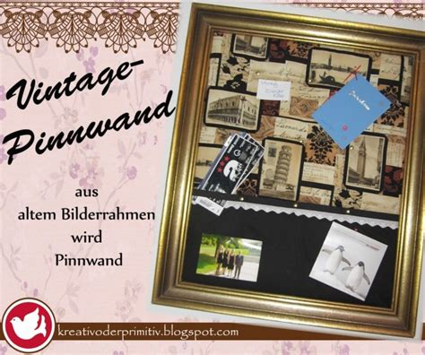 vintage pinnwand handmade kultur