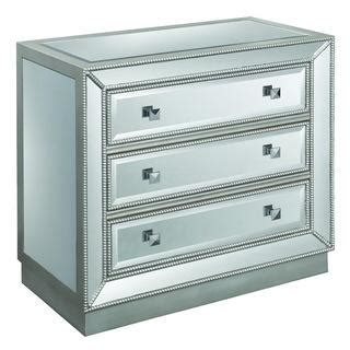 trump home central park mirrored single dresser
